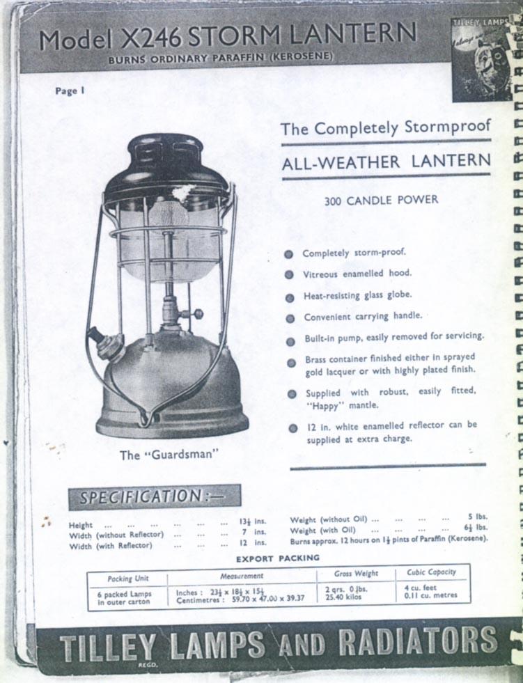 Tilley x 246 for Gebrauchte lampen